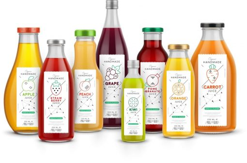 Juice & saftetiketter